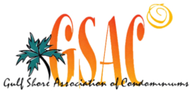 Gulf Shore Association of Condominiums Logo