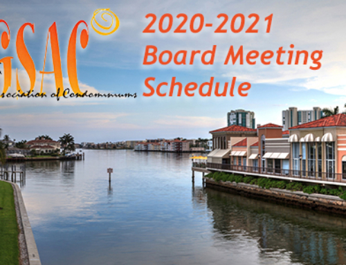 2020-2021 Board of Directors Meeting Schedule
