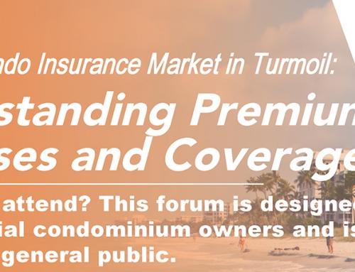 VIDEO REPLAY – Personal Condo Insurance Market in Turmoil: Understanding Premium Increases and Coverage